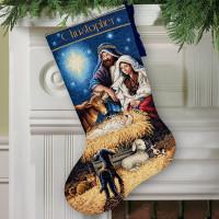 Chaussette de Noël : sainte nuit