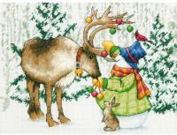 Renne de Noël