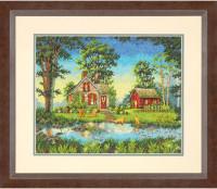 Cottage en été