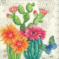 Floraison de cactus