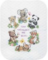 Quilt bébés animaux