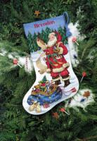 Chaussette de Noël : faisant sa liste...