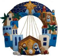 Couronne ville de Bethlehem