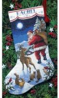 Chaussette de Noël : l'arrivée du Père Noël