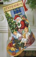 Chaussette de Noël : doux rêves