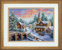 Le village à Noël