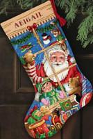 Chaussette de Noël : les joies du Père Noël