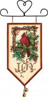 Bannière cardinal de Noël