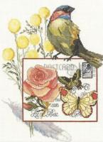 Oiseau botanique