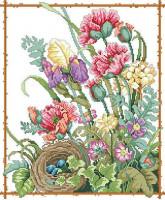 Les fleurs de mamie