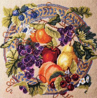 Gamme de fruits