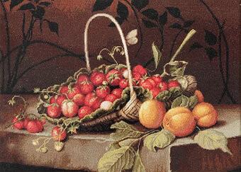 Nature morte avec fraises
