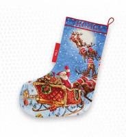 Chaussette de Noël : les rennes sont en chemin