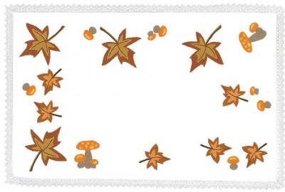 Napperons feuilles d'automne