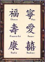 Les signes de bénédiction chinoise