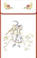 Cache-torchons : balade alsacienne