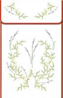 Cache-torchons : lavande et olivier