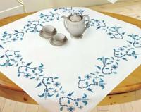 Surnappe fleurettes bleues