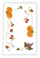 Napperons et nappes fruits de toutes saisons
