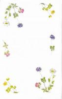 Napperons et nappes fleurs printanières