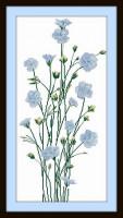 Bouquet fleurs de lin