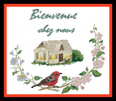 Bienvenue chez nous à l'oiseau