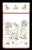 Cache-torchons : les cerfs