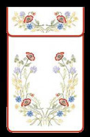 Cache-torchons : fleurs des champs