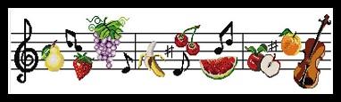 Les notes de fruits