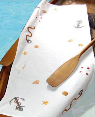 Surnappe et chemin de table bord de mer