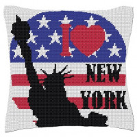Coussin I love New York