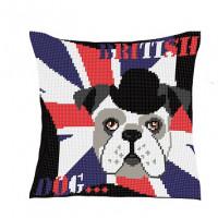 Coussin British dog