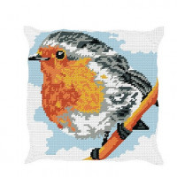 Coussin rouge-gorge