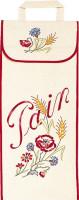 Sac à pain : fleur de blé