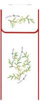 Sac à pain : rameaux d'olivier