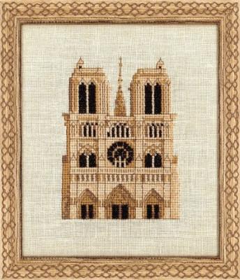 Notre Dame en sépia