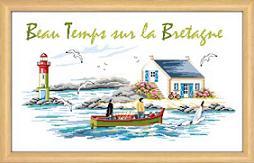 Beau temps sur la Bretagne