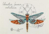 Travail d'horloge libellule