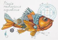 Travail d'horloge poisson