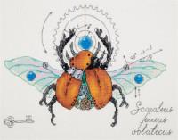 Travail d'horloge scarabée
