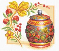 Vase fraises