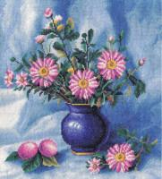 Branche de chrysanthèmes