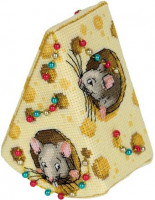 Fromage pour souris (ornement de Noël)
