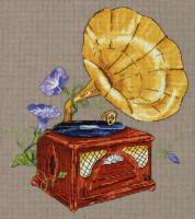 Gramophone de jardin