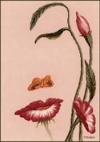 Bouche en fleur