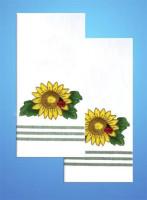 serviettes à broder