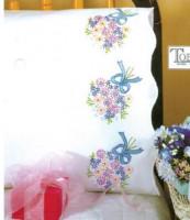 taie d'oreiller bouquets