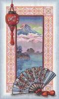 Le lac près de la montagne (Mont Fuji)