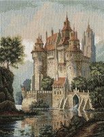 Château dans les montagnes