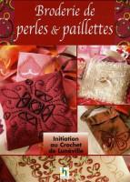 Broderie de perles et paillettes au crochet de Lunéville